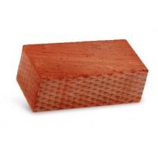 Кирпич керамический строительный полуторный полнотелый рельефный М-150, 250х120х88