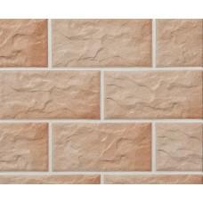 Клинкерная крупноформатная фасадная плитка Stroeher KERABIG, KS 03 rose