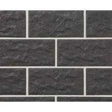 Клинкерная крупноформатная фасадная плитка Stroeher KERABIG, KS 05 anthrazit