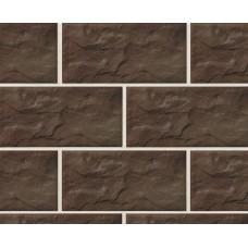Клинкерная крупноформатная фасадная плитка Stroeher KERABIG, KS 15 schokobraun