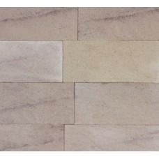 Плитка Песчаник колотая по периметру 1573, розовый 30x160x350