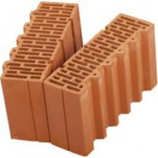 Поризованный кирпич - поризованный керамический блок (теплая керамика) ПОРОТЕРМ (POROTHERM) 38 1/2 Размер: 380х250х219