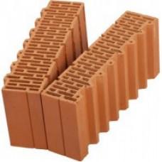 Поризованный кирпич - поризованный керамический блок (теплая керамика) ПОРОТЕРМ (POROTHERM) 51 1/2 М100 Размер: 510x250x219