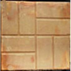 Тротуарная плитка 400х400 «8 кирпичей»